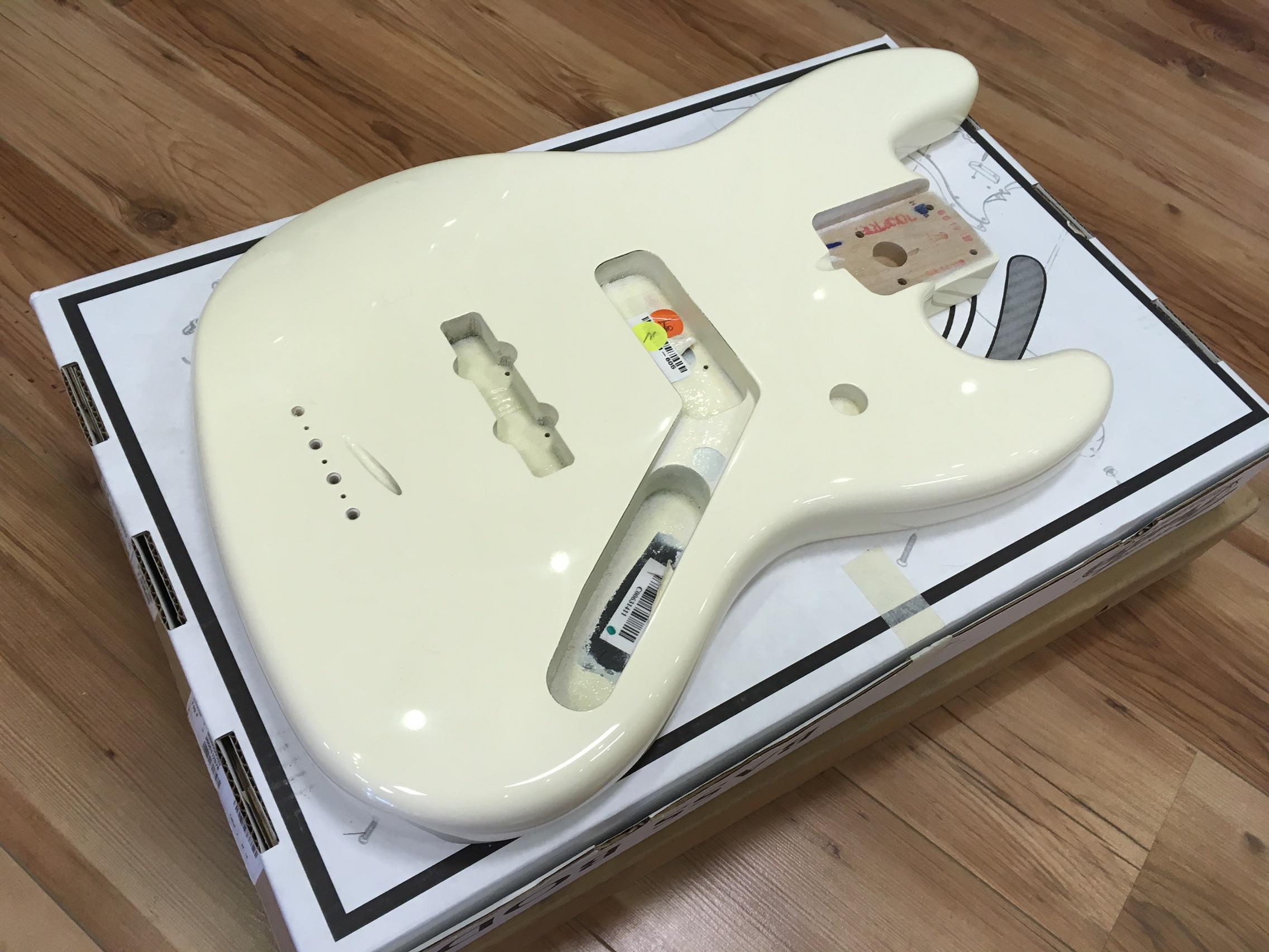 Fender USA Jazz Bass body - Olympic White