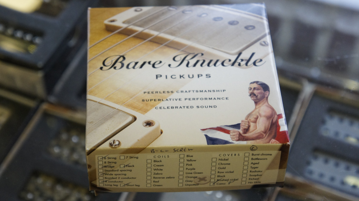 Bare Knuckle Nailbomb 6 Set – Custom Shop – Purple Camo / Burnt Chrome Screw – 53mm