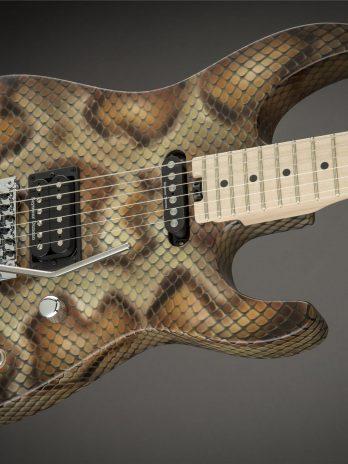 Charvel Warren DeMartini Signature Pro-Mod Snake – Snakeskin – Pre Order!