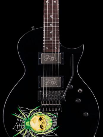 ESP KH-3 Spider Kirk Hammett Signature – 30th Ann – Black with Spider Graphic – Reservation