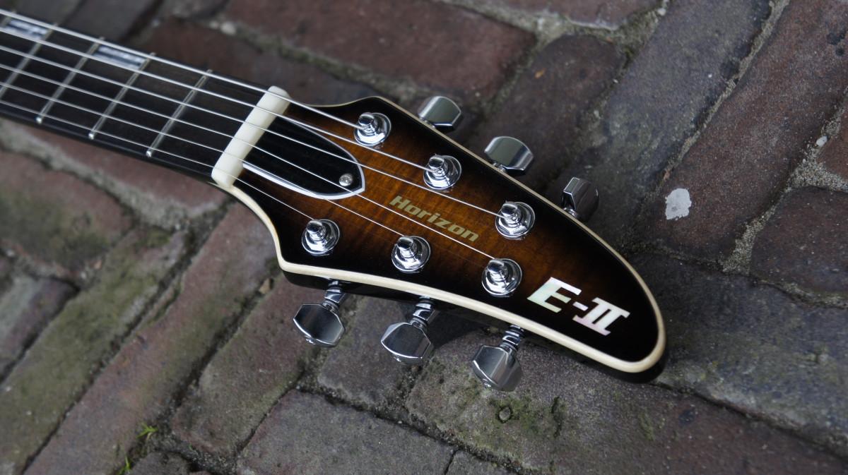 ESP E-II Horizon FM NT – DBSB – Dark Brown Sunburst – B stock / dent