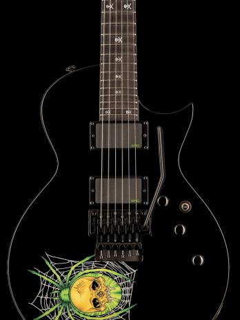 ESP LTD KH-3 Spider – Black with Spider Graphic – Reservation !