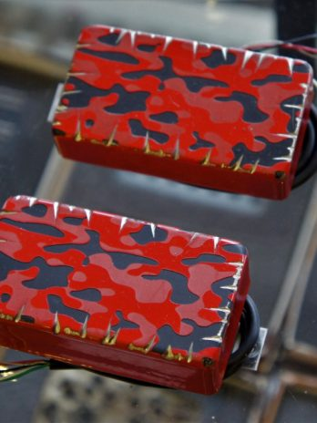 Bare Knuckle Ragnarok 6 Set – Custom Shop – Fire Camo Battleworn – 53mm