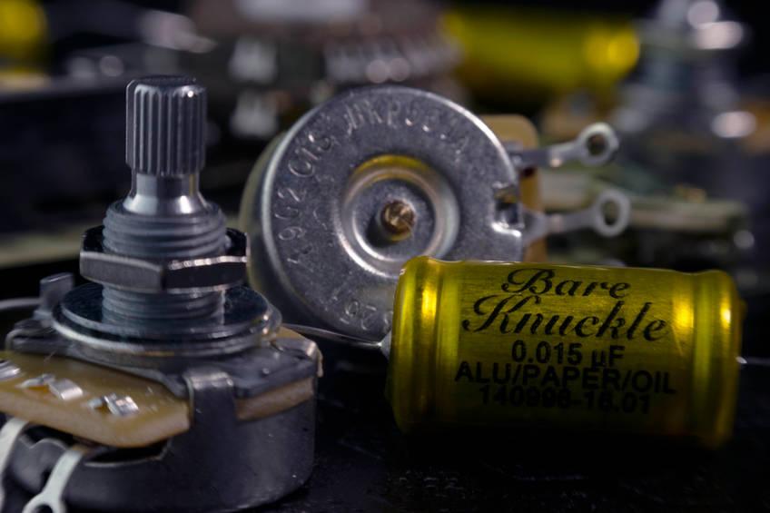 Bare Knuckle Warpig 6 Set – Custom Shop – Chrome Battleworn / Nickel Screw – 53mm