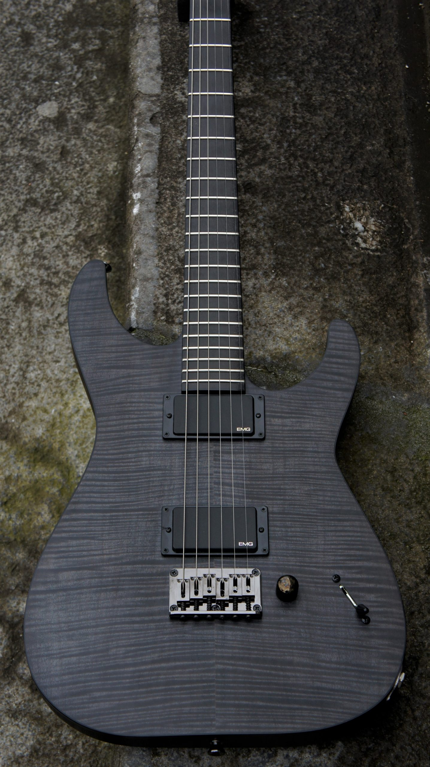 ESP Custom Shop - Jon Donais - See Thru Black - NOS