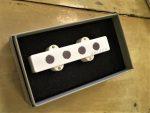 Delano JMVC 4 FE/M2 bridge split coil humbucker – white