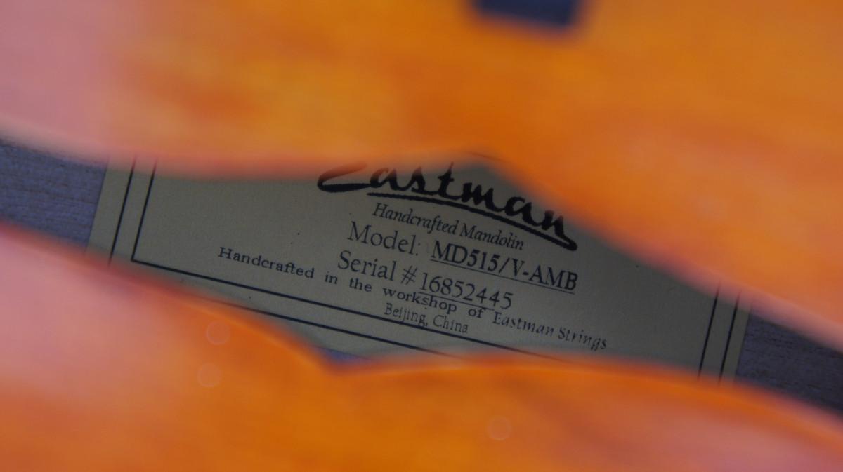 Eastman MD515V-AMB – Amber Antique Varnished