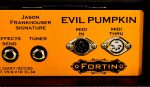 Fortin Amplification Evil Pumpkin Head