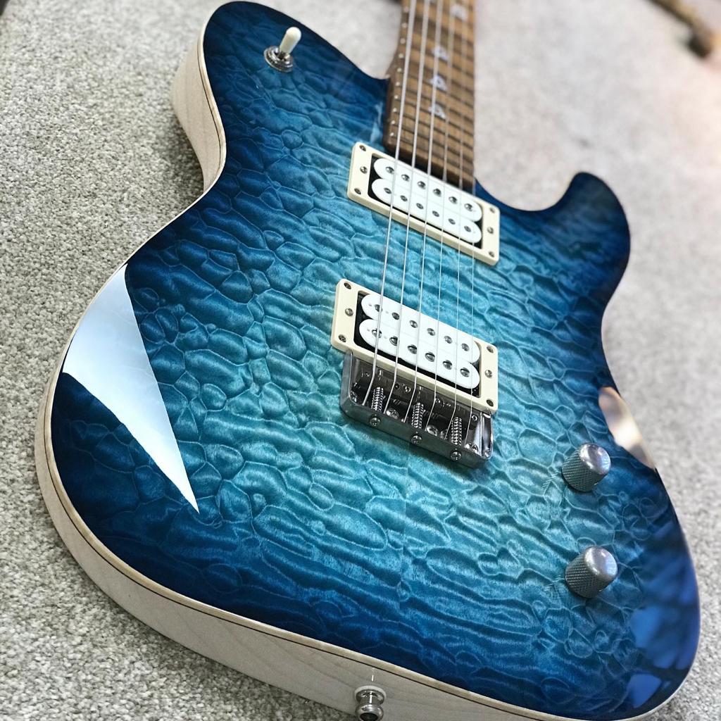 Patrick James Eggle Oz-T Drop-top - Bright Blue Burst - Pre-order
