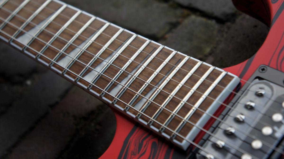 Jackson X Series SLX DX Swirl Soloist – Satin Red Swirl