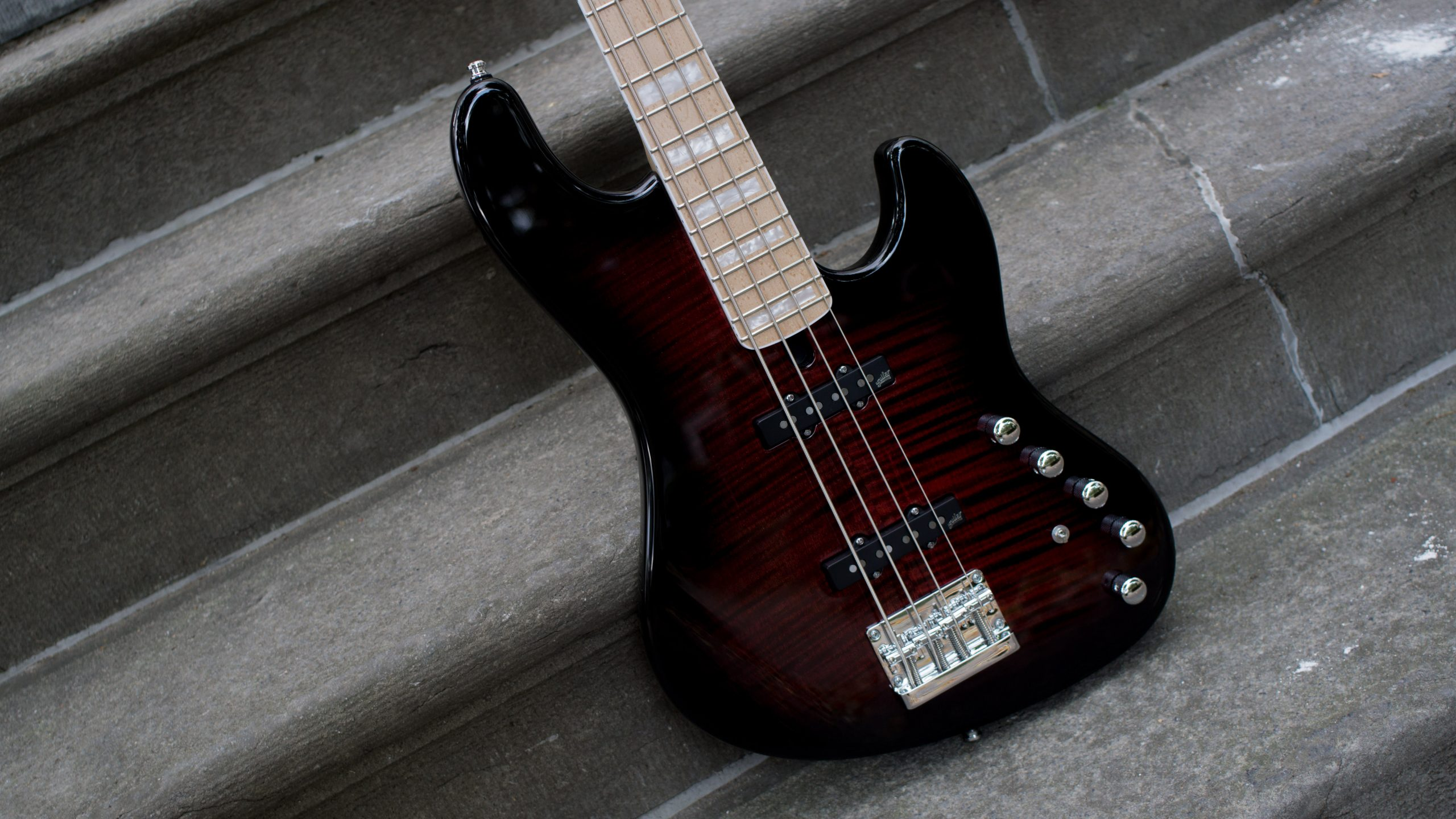 Mayones Jabba 4 Classic - Dirty Red Gloss