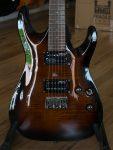 ESP LTD H-101FM Dark Brown Sunburst
