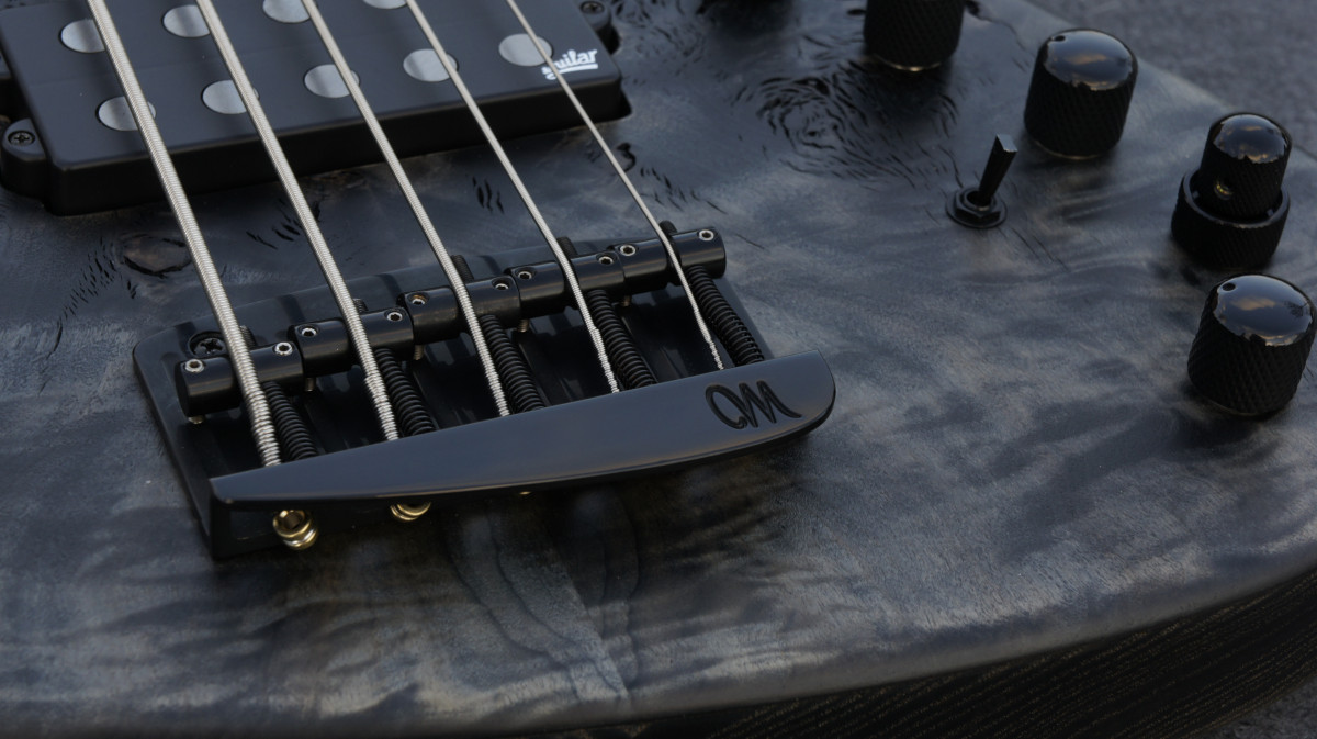 Mayones Jabba Custom 5 JMM EP – Trans Black RAW