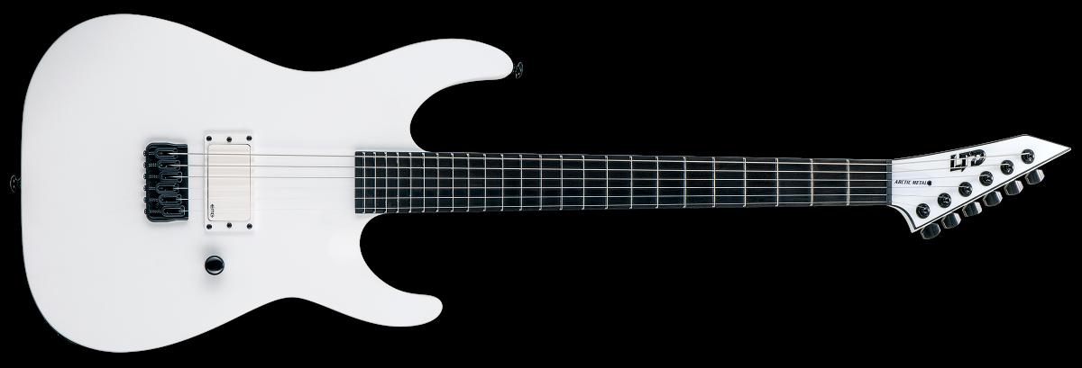 ESP LTD M-HT Arctic Metal – Snow White Satin – Reservation !