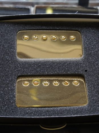 Bare Knuckle Bootcamp True Grit 6 Humbuckers – Gold Cover / 53mm Set