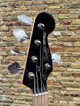 Squier Contemporary Active Jazz Bass HH V Black – MN