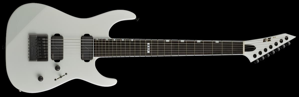 ESP E-II M-II 7B/ET Baritone – Pearl White – Reservation !