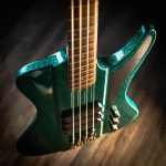 Dingwall D-Roc Standard 4-String –  Aquamarine Metalflake