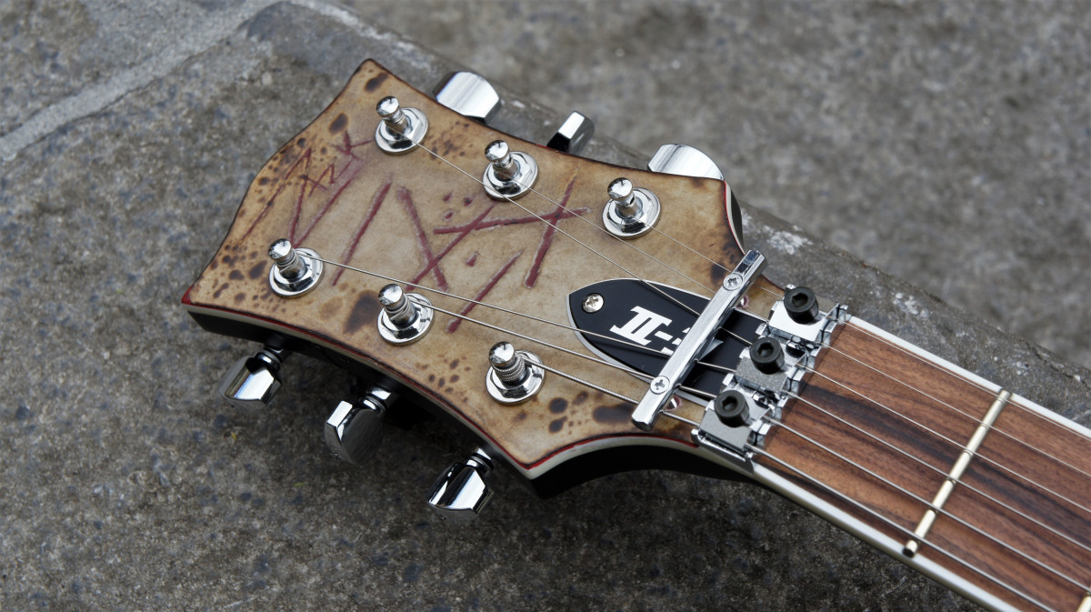 ESP E-II RZK-II Burnt Richard Z Signature