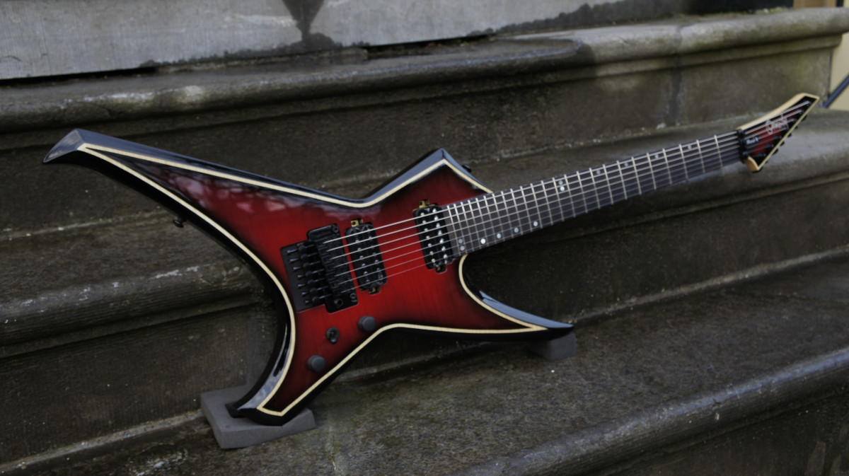 Ormsby Metal X 7 Flame Top Exotic Floyd Equipped – Dahlia Black