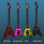 Ormsby Metal V 6 Flame Top Exotic Floyd Equipped – Grold