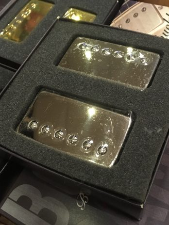 Bare Knuckle Bootcamp Brute Force Humbuckers Nickel Cover / 53 mm