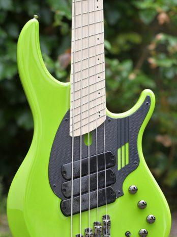 "Dingwall NG3 Adam ""Nolly"" Getgood Signature 5-String – Ferrari Green – 08890"