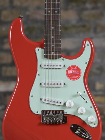 Squier Classic Vibe '60s Stratocaster – Fiesta Red(1)