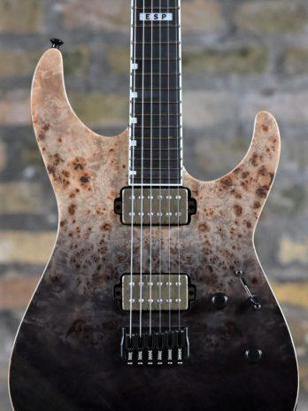 ESP E-II M-II NT BLKNF – Black Natural Fade