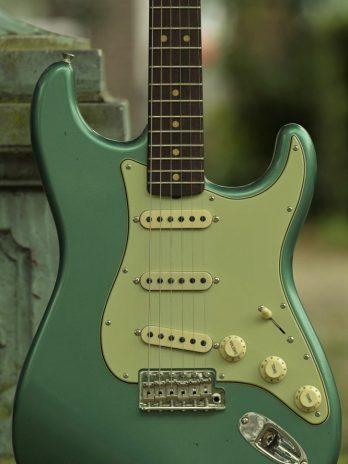 Fender Custom Shop 1963 Stratocaster Journeyman Relic – Faded Aged Sherwood Green Metallic
