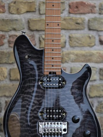 EVH Wolfgang Special QM BAKED MAPLE FINGERBOARD – Charcoal Burst
