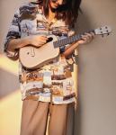 Lava Music Ukulele – 23″ Concert – FreeBoost – Gold